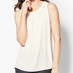 talbots-ivory-ruched-shell