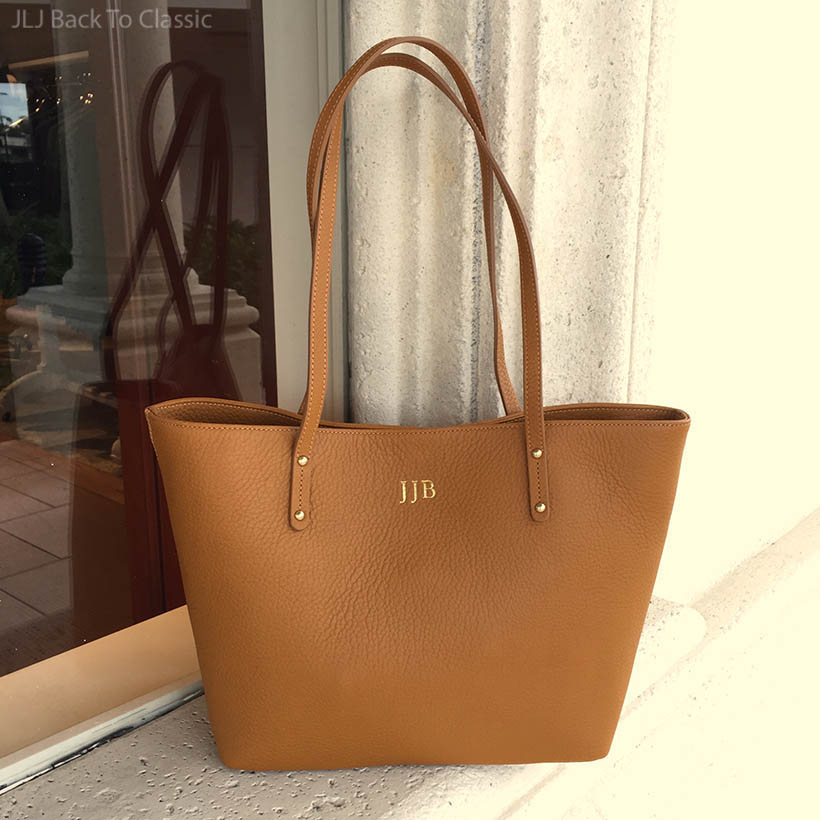 Classic-Fashion-Cognac-Gigi-NY-Pebble-Grain-Tote-With-Personalized-Monogram-JLJBackToClassic