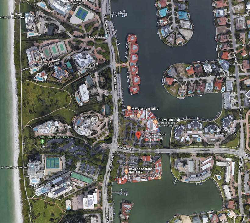 Vlog-village-on-venetian-bay-m-waterfront-grille-googlemaps-screenshot