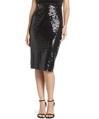 eliza-j-black-sequin-pencil-skirt
