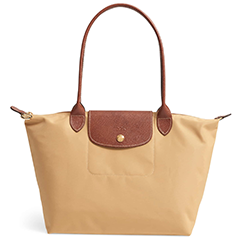 longchamp-small-le-pliage-nylon-and-leather-tote-honey