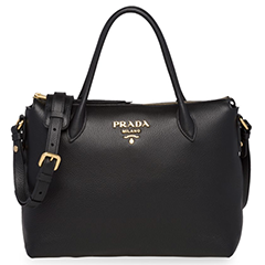prada-black-daino-leather-tote