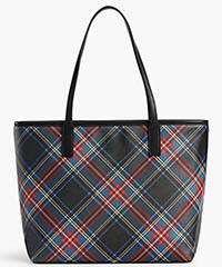 talbots-coated-canvas-buffalo-plaid-tote-red-black