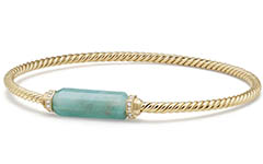 david-yurman-18k-gold-barrels-bracelet-with-diamonds-and-amazonite