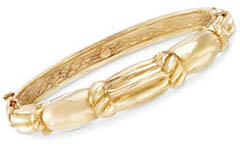 italian-18k-gold-scallop-style-bangle-bracelet