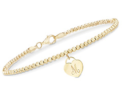 14kt-gold-bead-bracelet-with-engravable-heart-charm