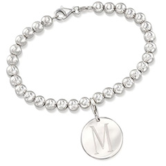 italian-6mm-sterling-silver-bead-bracelet-with-personalized-disc-charm