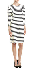 j.mclaughlin-black-cream-striped-catalina-cloth-dress