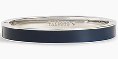 talbots-navy-enamel-bangle