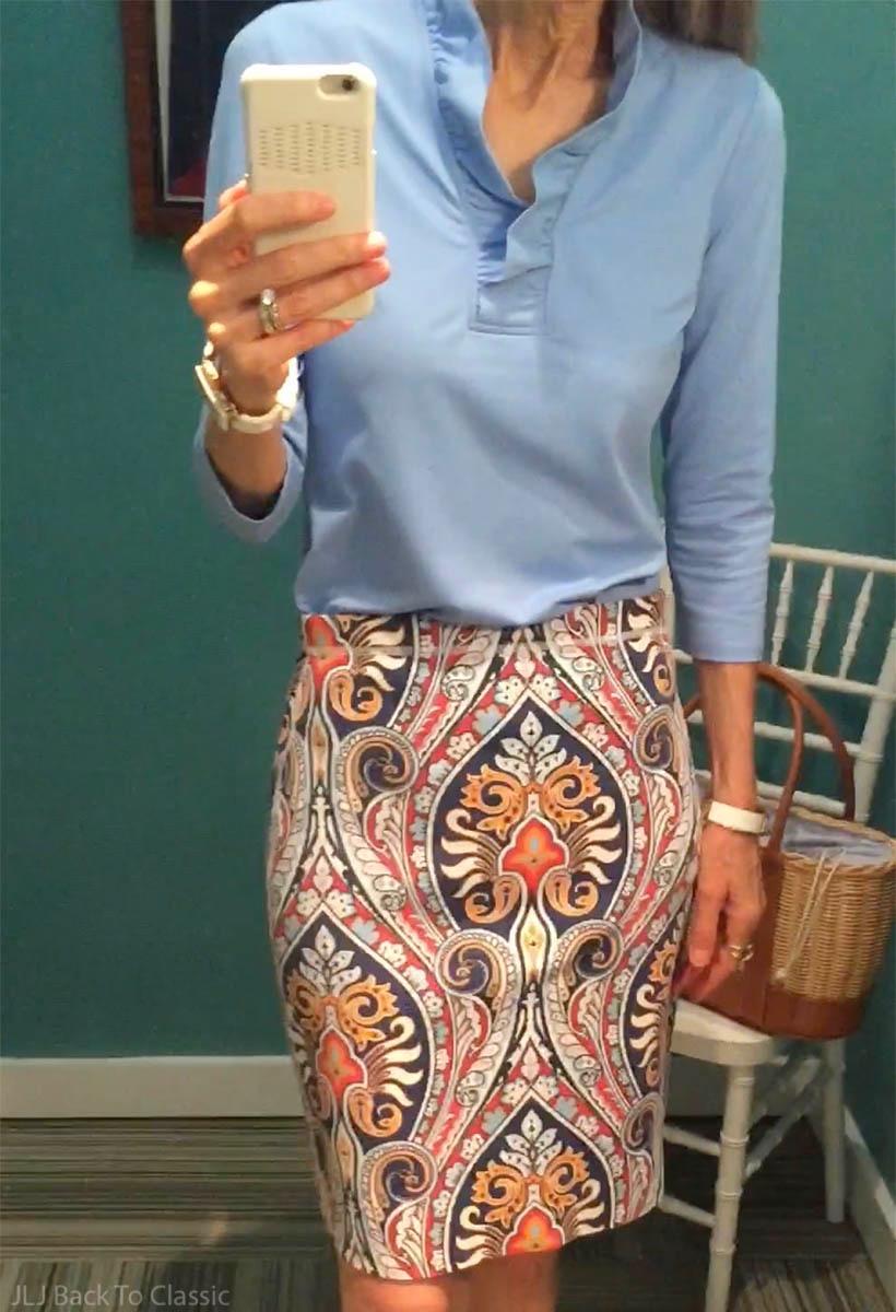 jmclaughlin-durham-medium-blue-ruffle-top-halle-reversible-skirt-firenze-houndstooth