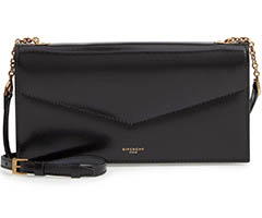 givenchy-black-leather-wallet-on-a-chain