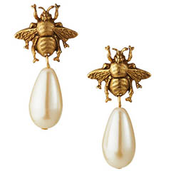yochi-bee-and-pearl-drop-earrings