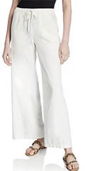 max-studio-white-linen-blend-drawstring-wide-leg-pants