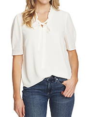cece-split-neck-top-with-tie-and-ruffle-collar-ecru