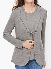 talbots-merino-wool-sweater-blazer-gray