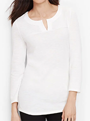 talbots-textured-split-neck-top-white