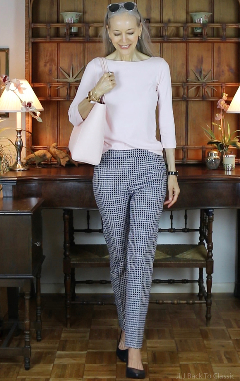 classic-style-talbots-blush-tee-and-navy-and-white-chatham-ankle-pant