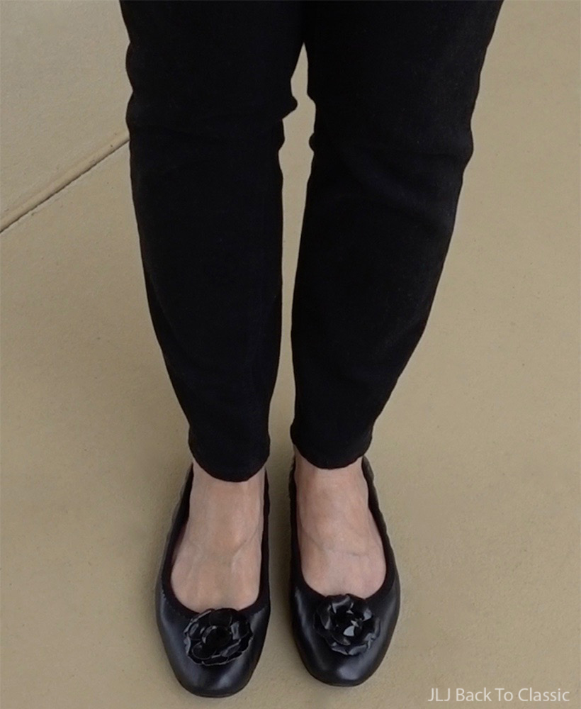 Talbots-Black-Jegging-Lindsay-Phillips-Black-Leather-Ballet-Flat
