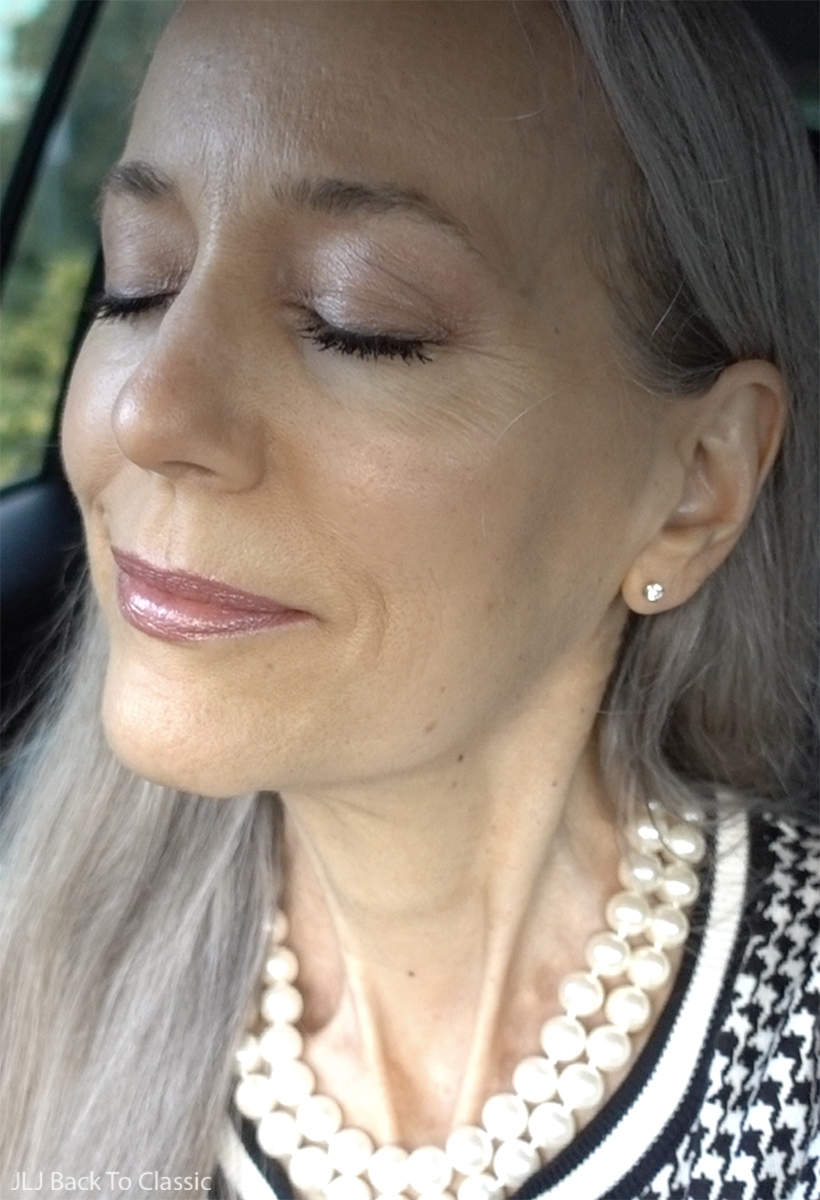 green-beauty-age-59-wearing-100-percent-pure-rose-gold-palette-lipstick