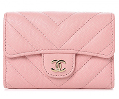 chanel-caviar-chevron-quilted-flap-card-holder-pink