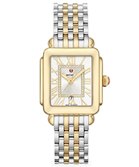 michele-deco-madison-mid-two-tone-diamond-dial-watch