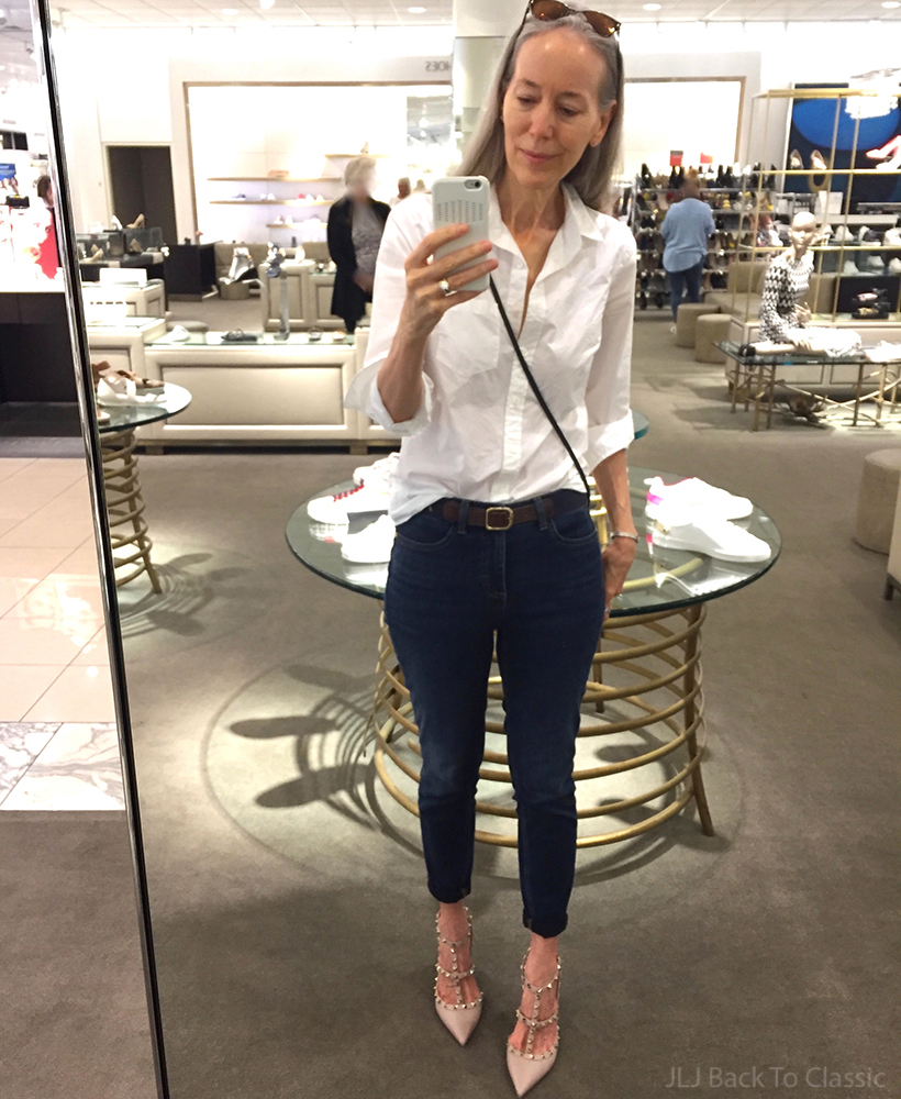 trying-on-valentino-rockstud-ankle-strap-pumps-101mm-poudre-style-over-50
