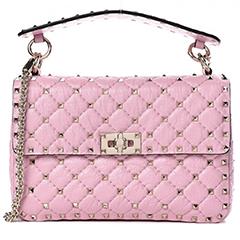 valentino-crackled-lambskin-medium-rockstud-spike-bag-pink-fashionphile