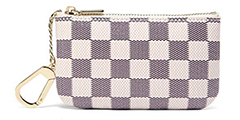 daisy-rose-key-pouch-coated-canvas-blue-and-cream-check