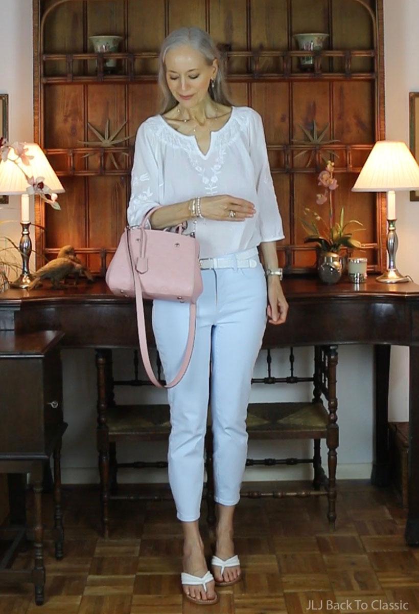 louis-vuitton-montaigne-bb-rose-poudre-empreinte-review-what-fits-outfit