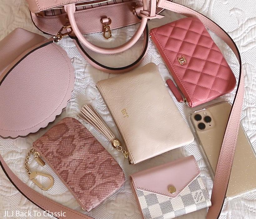 Louis-Vuitton-Montaigne-BB-Rose-Poudre-Empreinte-Leather-What-Fits-Inside-Zoe-Wallet