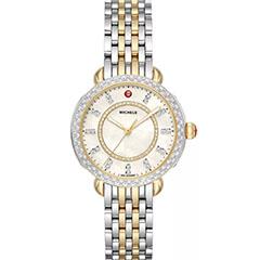 michele-sidney-classic-diamond-watch-two-tone