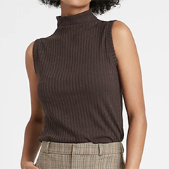Banana-republic-ribbed-turtleneck-tank-dark-mahogany-brown