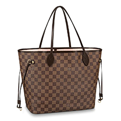 louis-vuitton-neverfull-mm-damier-ebene-rose-ballerina
