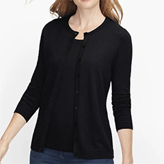 classic-fashion-over-50-talbots-charming-cardigan-black-three-quarter-sleeves