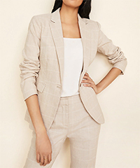 ann-taylor-windowpane-one-button-blazer